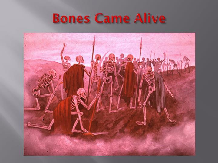 Bones Came Alive