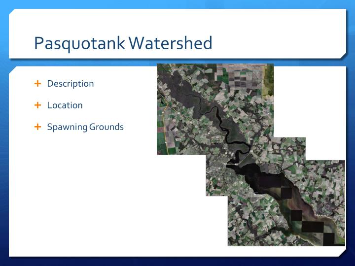 Pasquotank Watershed