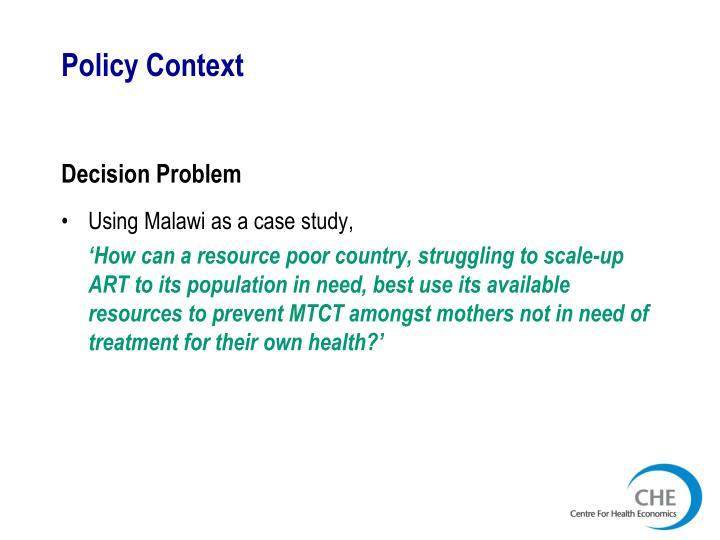 Policy context1