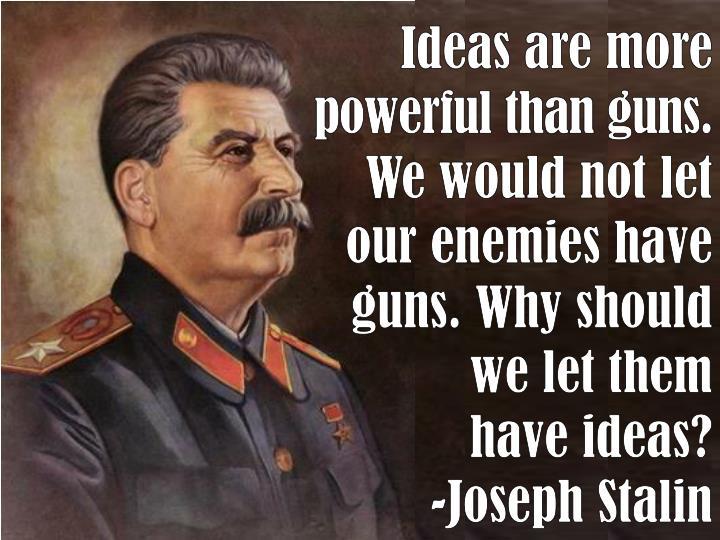 Ideas are more