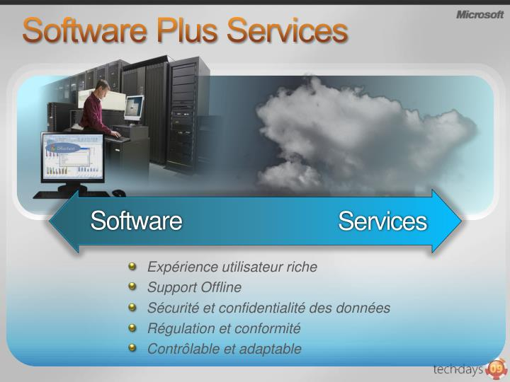 Software Plus Services