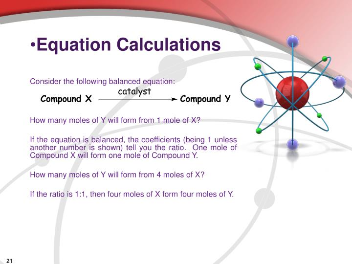 Equation Calculations