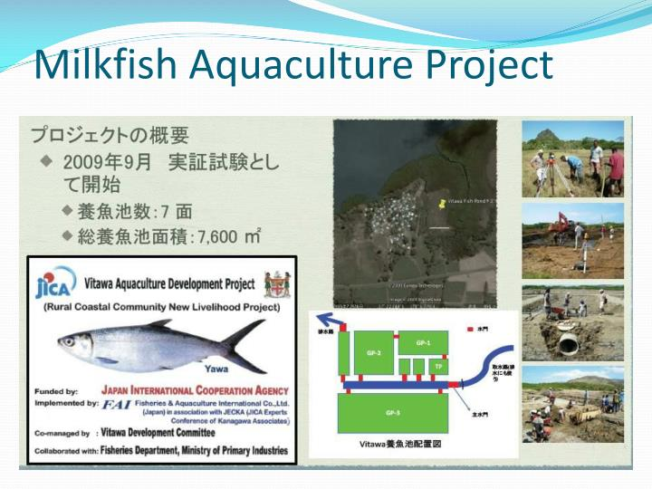 Milkfish Aquaculture Project