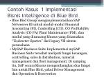 contoh kasus 1 implementasi bisnis intelligence di blue bird