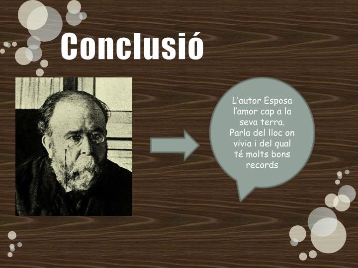 Conclusió