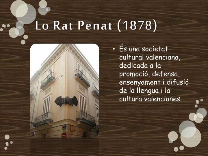 Lo Rat Penat (1878)