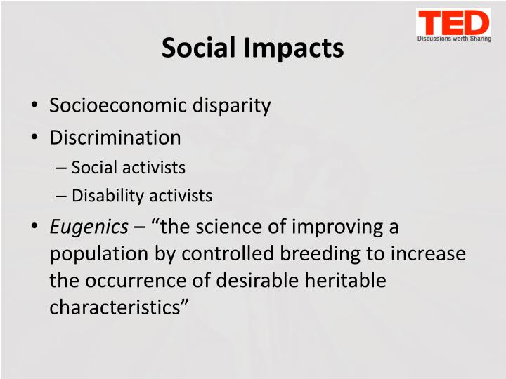 Social Impacts