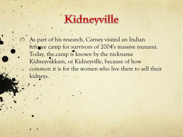 Kidneyville