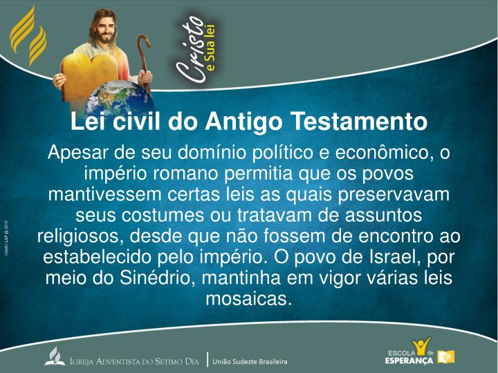 Lei civil do Antigo