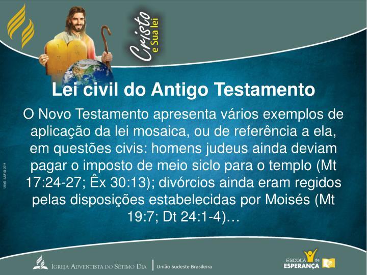 Lei civil do Antigo