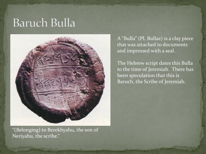 Baruch Bulla