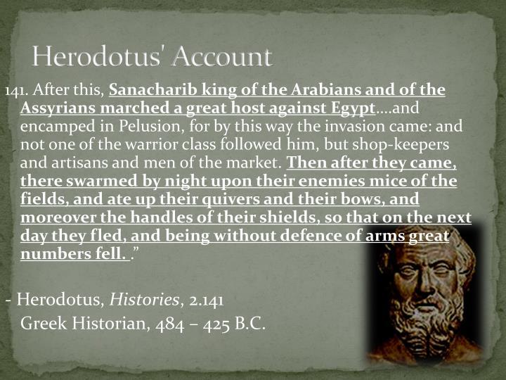 Herodotus' Account