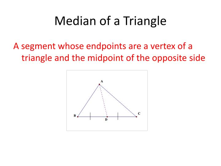 Median of a Triangle