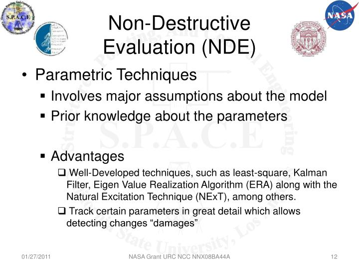 Non-Destructive Evaluation (NDE)