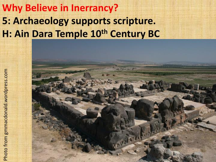 Why Believe in Inerrancy?