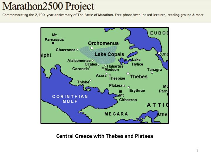 Central Greece with Thebes and Plataea