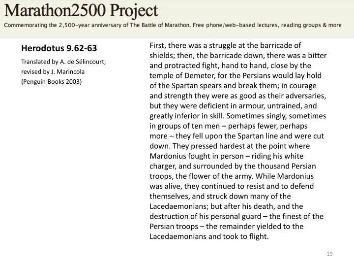 Herodotus 9.62-63