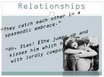 stella s relationships