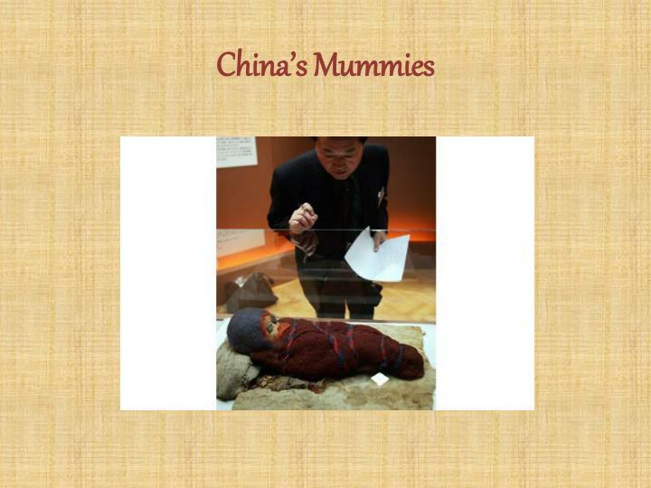 China's Mummies