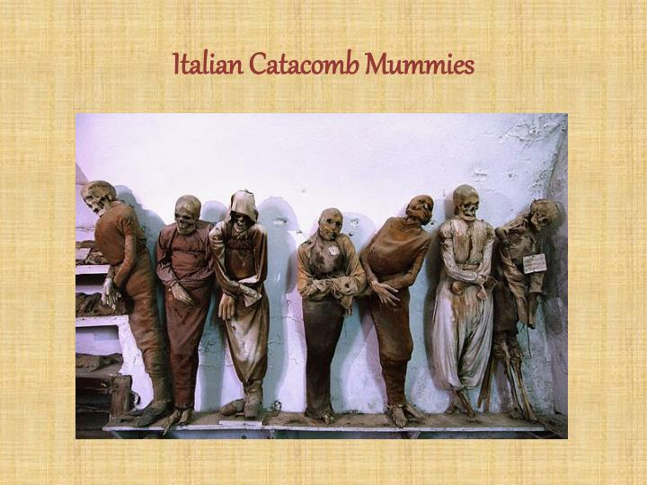 Italian Catacomb Mummies