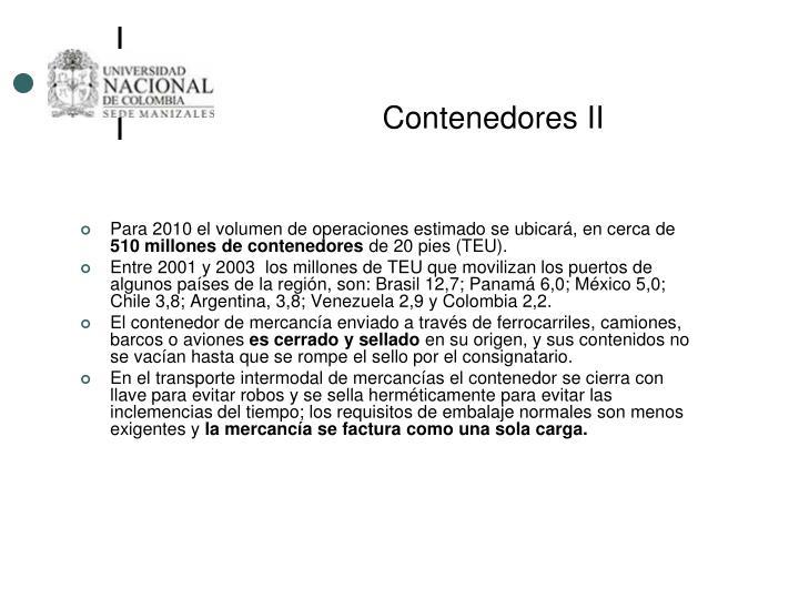 Contenedores II
