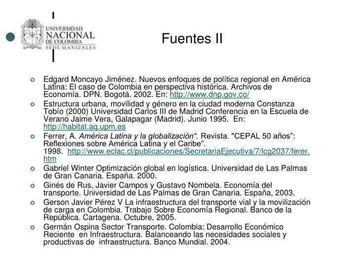 Fuentes II