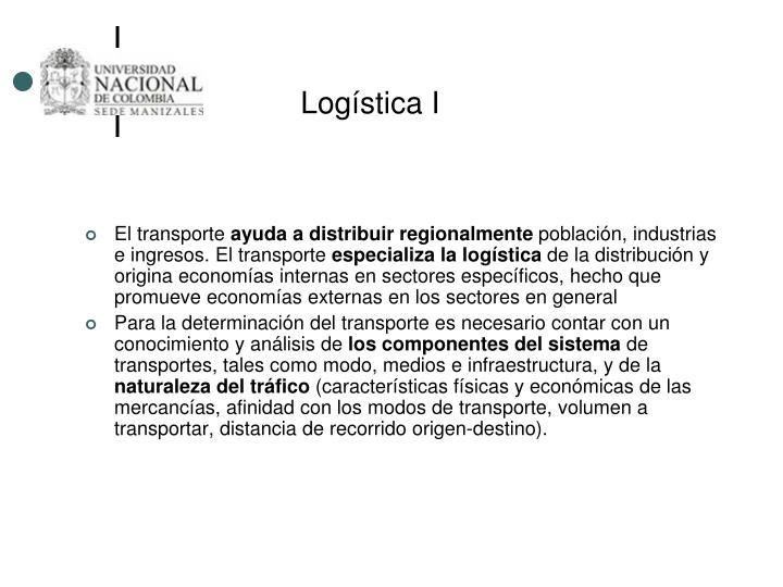 Logística I