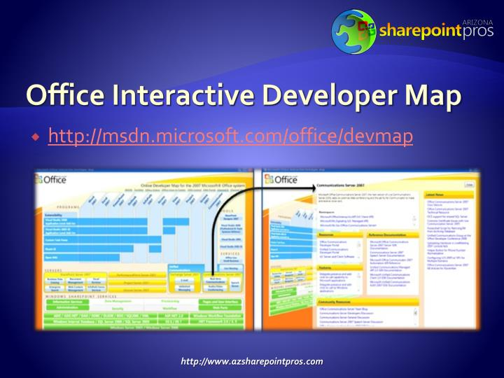 Office Interactive Developer Map