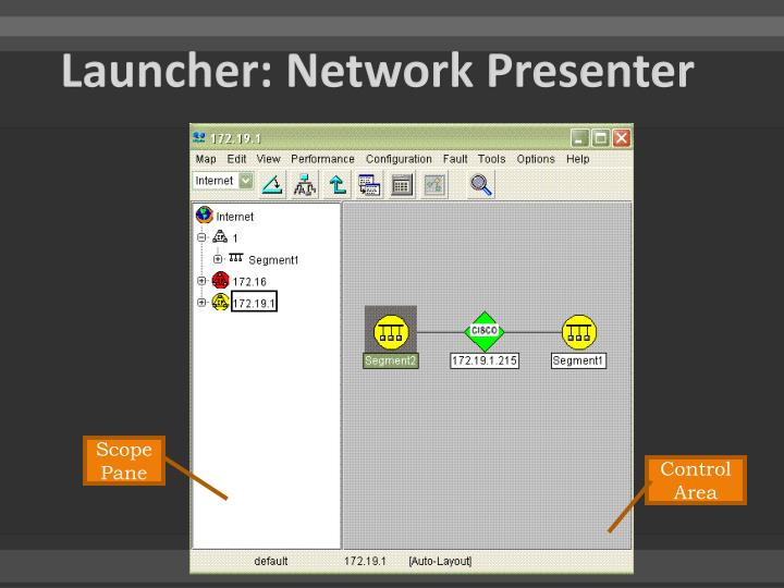 Launcher: Network Presenter