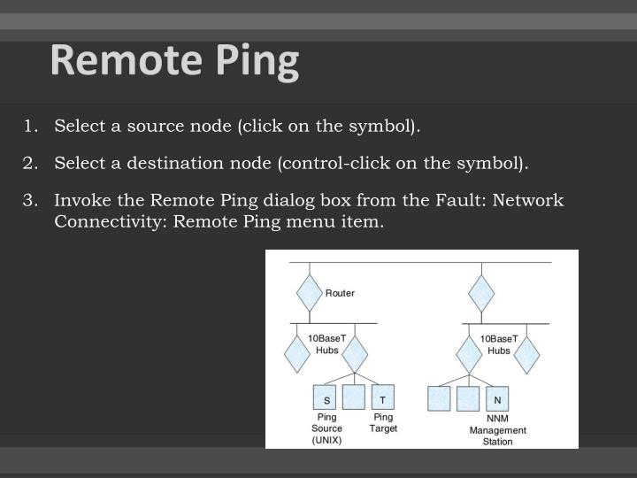 Remote Ping