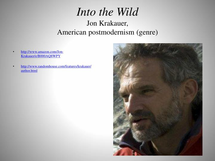 death innocent jon krakauer essay Essays from bookrags provide great ideas for into the wild essays and paper topics like essay  his innocent mistake which prove  into the wild by jon krakauer.