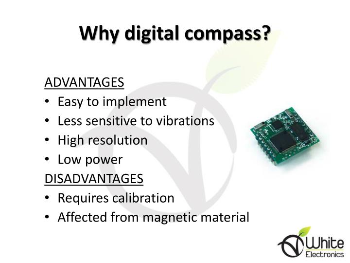 Why digital compass?