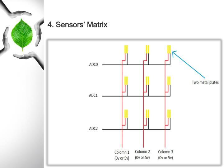 4. Sensors' Matrix