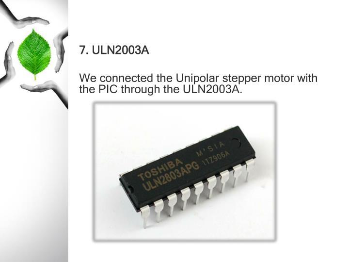 7. ULN2003A