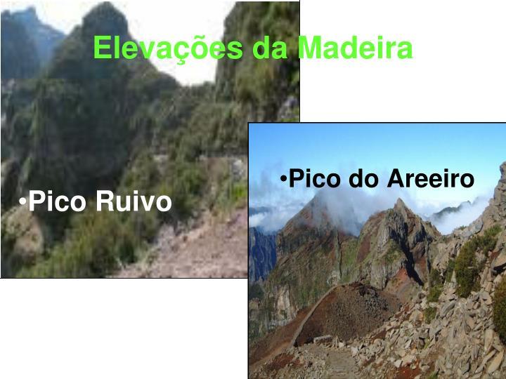 Elevações da Madeira