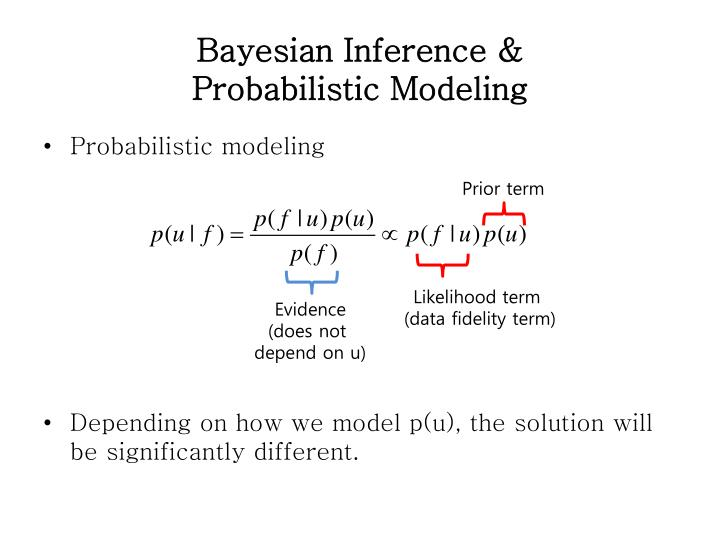 Bayesian Inference &