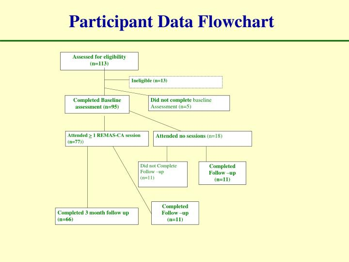 Participant Data Flowchart