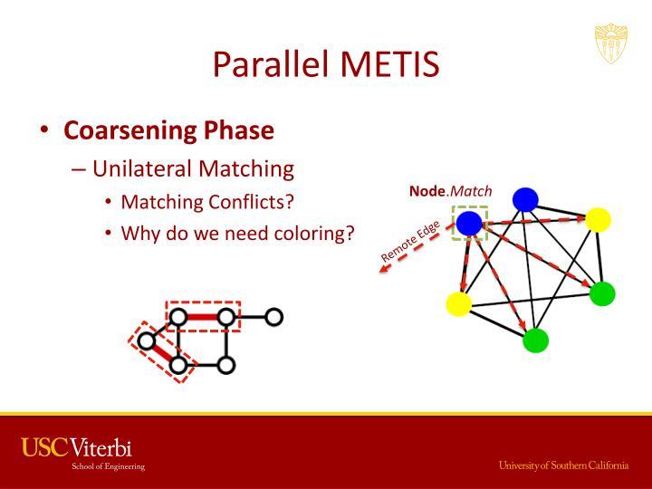 Parallel METIS