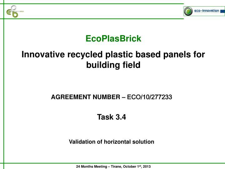 EcoPlasBrick