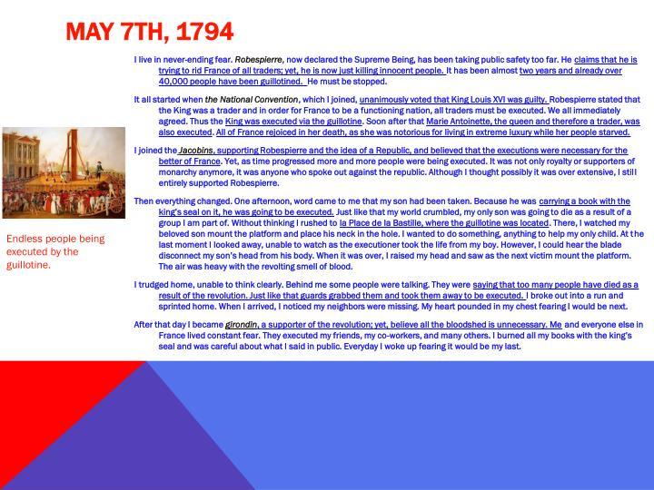 May 7th, 1794