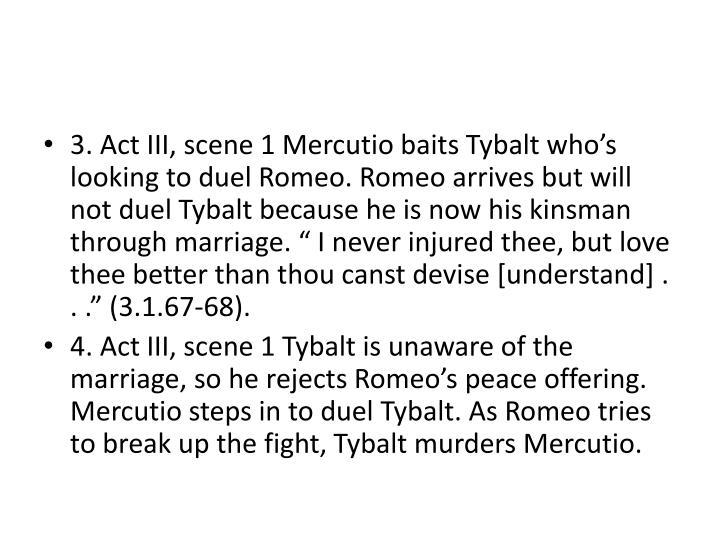 3. Act III, scene 1