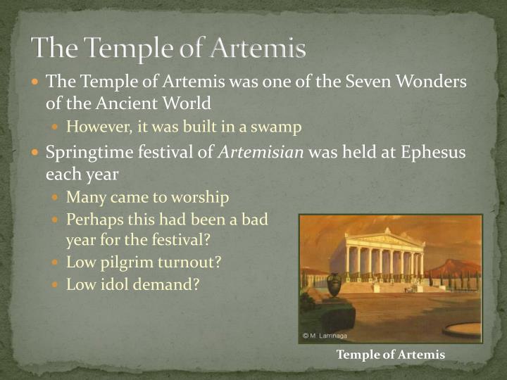 The Temple of Artemis