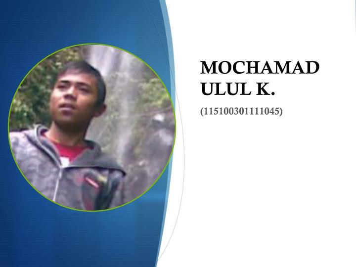 MOCHAMAD ULUL