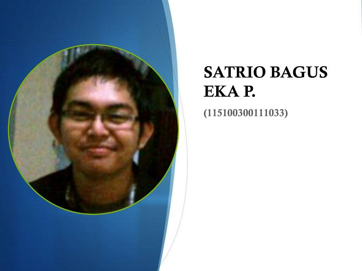 SATRIO BAGUS EKA P.
