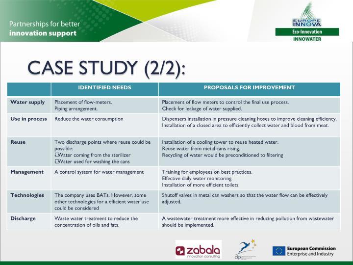 CASE STUDY (2/2):
