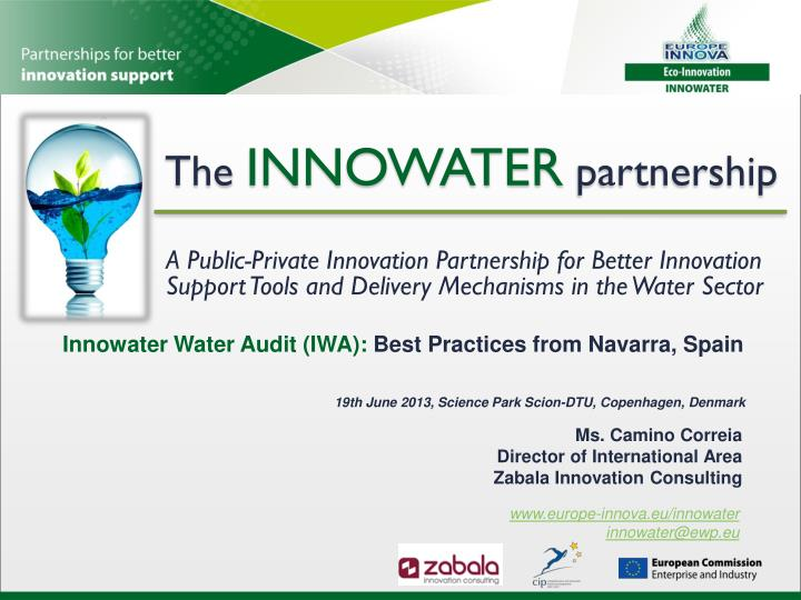 The innowater partnership