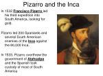 pizarro and the inca