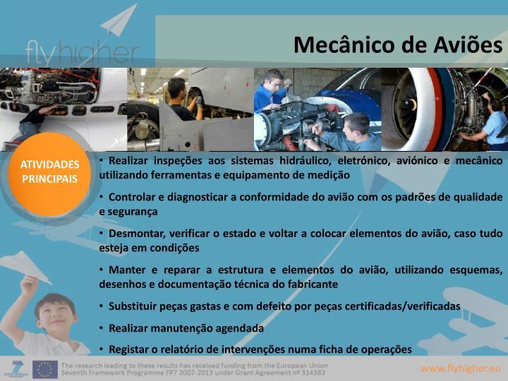 Mecânico de Aviões