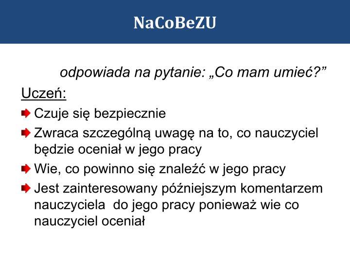 NaCoBeZU