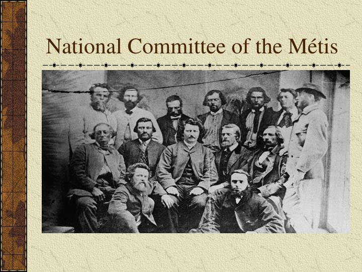 National Committee of the Métis